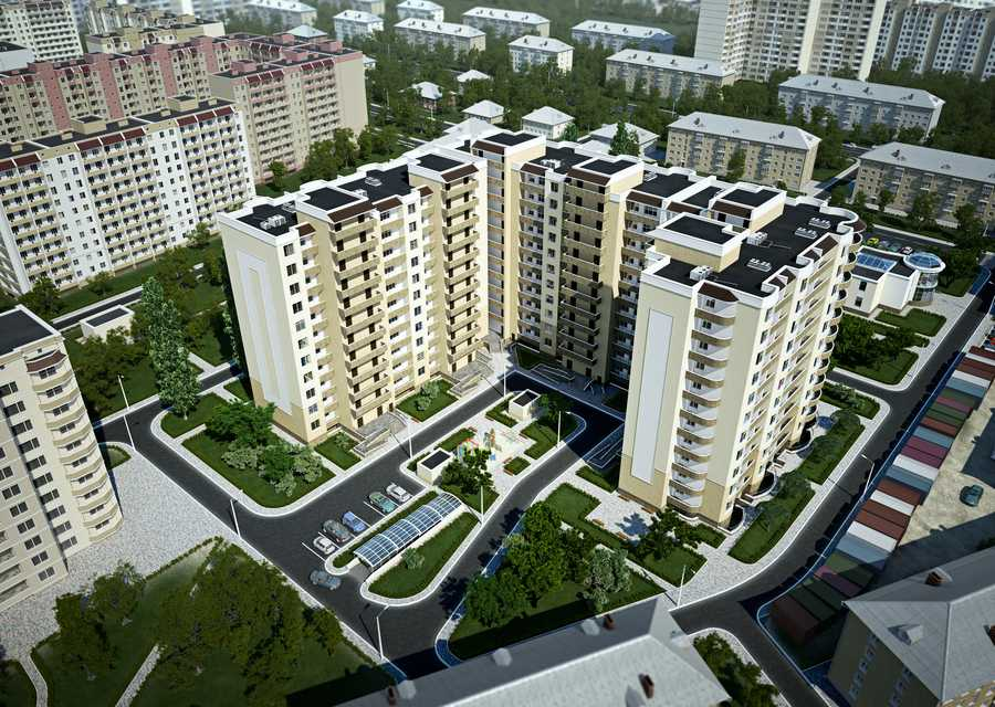 Zooparkovaya st. 8 (6-section apartment house)